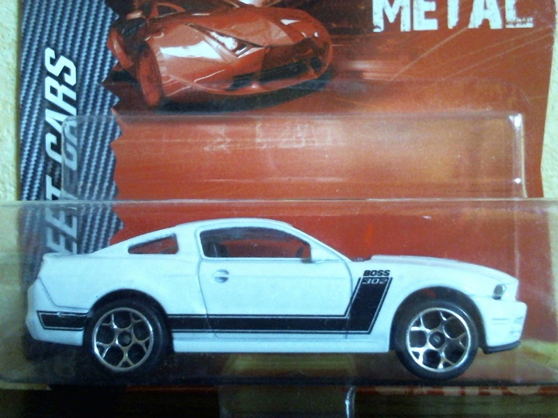 N°204A Ford Mustang Boss FordMustangBoss204A01