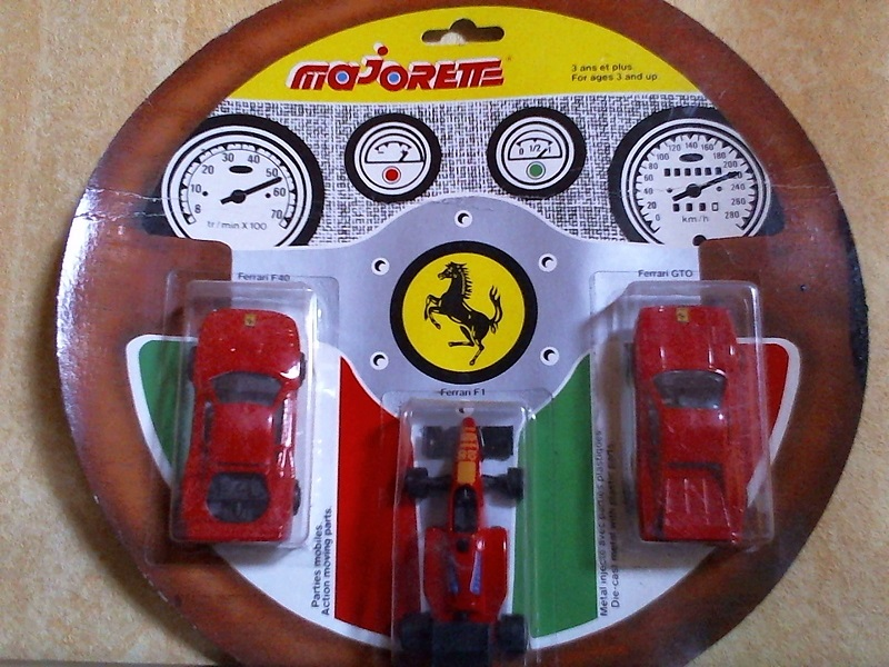 Volant 3 voitures Ferrari Volant3Ferrari