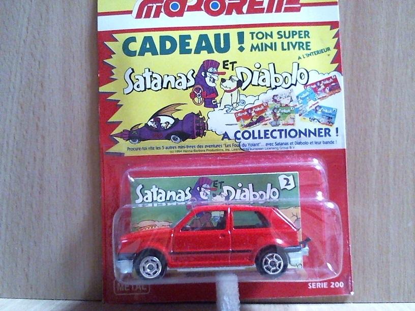 N°264 Volkswagen golf III Golf26401